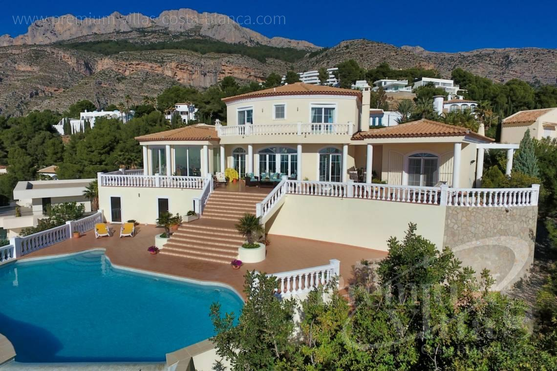 Luxusvilla in der Sierra de Altea in Altea - C2251 - Luxusvilla an erstklassiger Lage in Altea 1