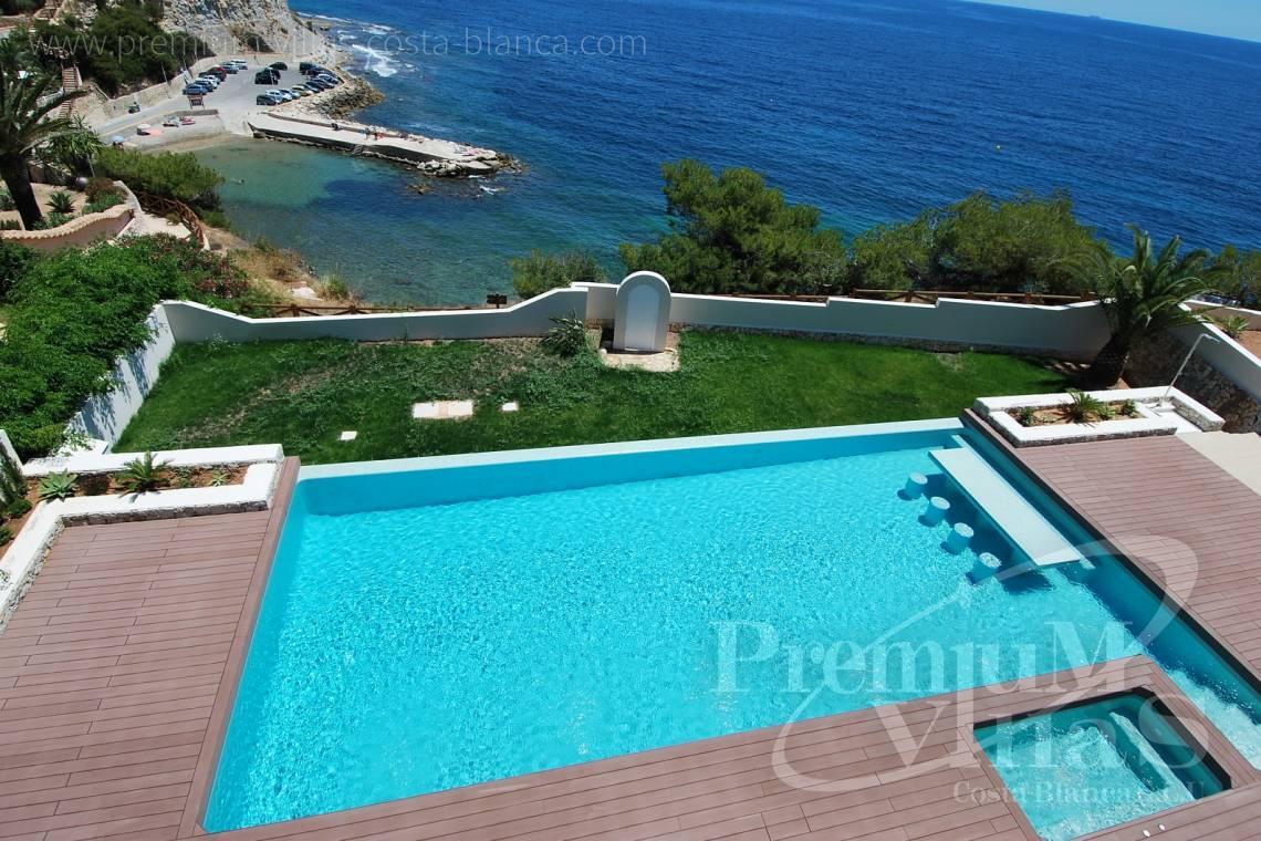 moderne Villa Benissa Costa Blanca Spanien 1. Meereslinie! Villa mit ...