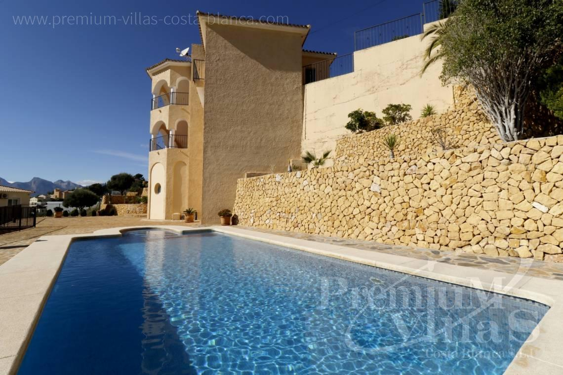 Villa in der Urbanisation Urlisa 2 Altea Costa Blanca - C2220 - Villa mit Meerblick in Altea 2