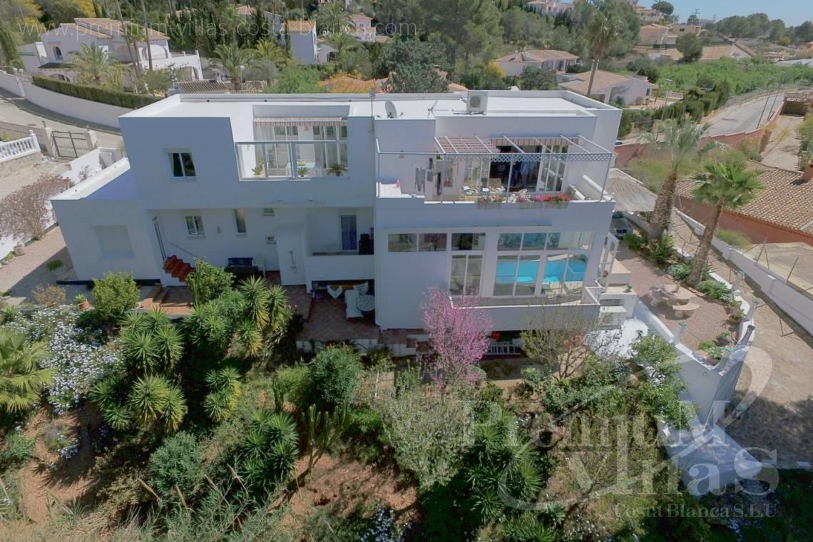 modernes Haus Altea Costa Blanca Spanien Haus mit Hallenbad, Sauna ...