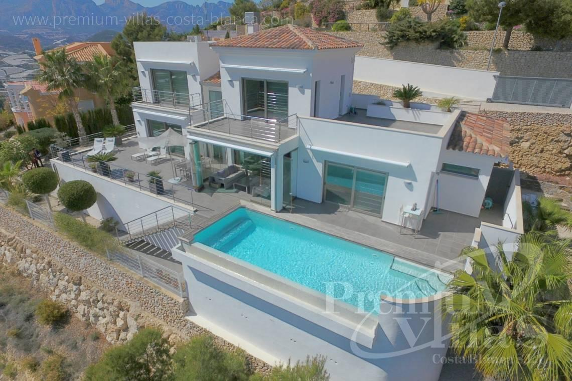 Moderne Luxusvilla in Altea la Vella - C2057 - Moderne Luxusvilla in Altea la Vella 1