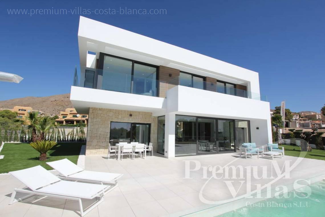 modernes Haus Finestrat Costa Blanca Spanien Moderne Neubau-Villen ...