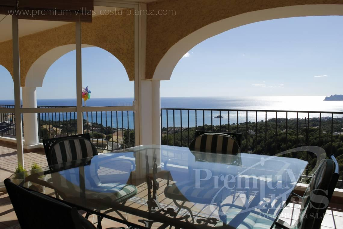Villa in der Urbanisation Urlisa 2 Altea Costa Blanca - C2220 - Villa mit Meerblick in Altea 4