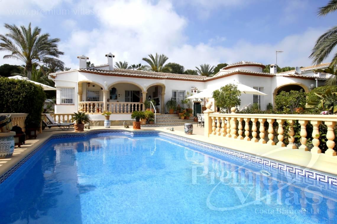 Haus Zu Verkaufen Moraira Costa Blanca Spanien Haus In Moraira 500m