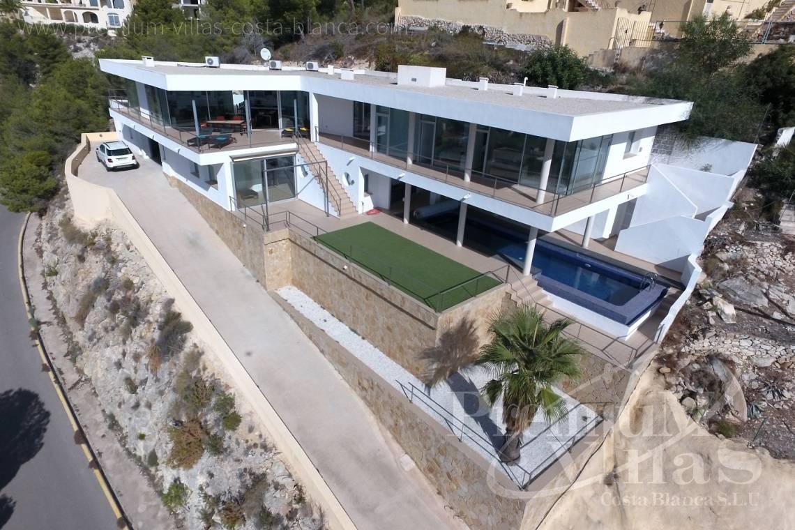 modernes Haus Altea Costa Blanca Spanien Moderne Luxusvilla in Altea ...