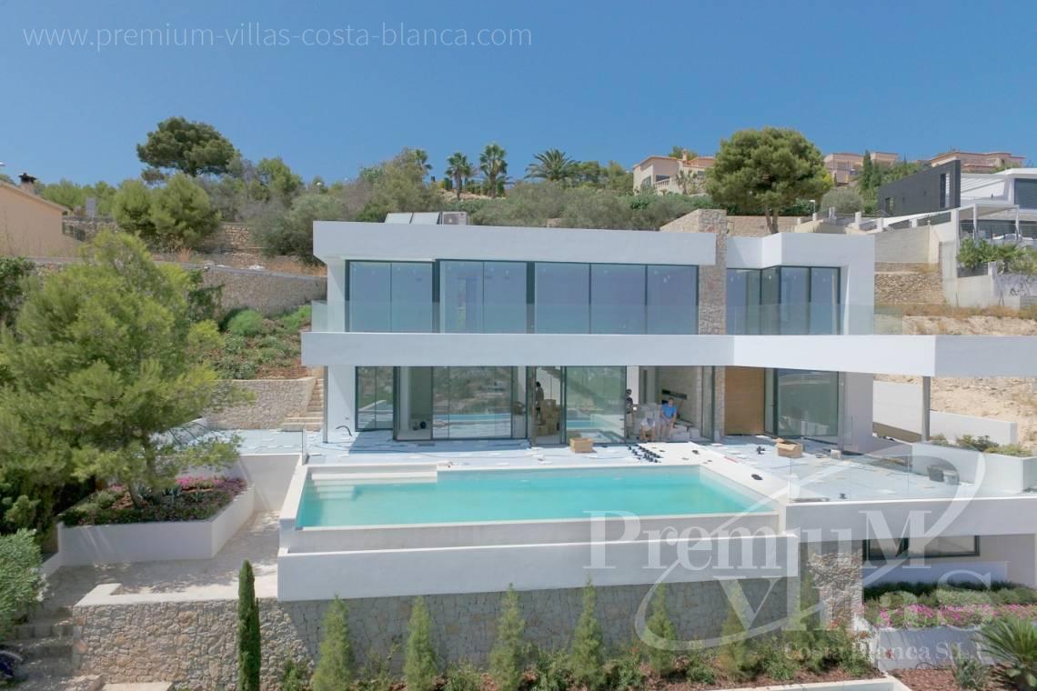 Luxusvilla calpe costa blanca spanien moderne villa zu verkaufen