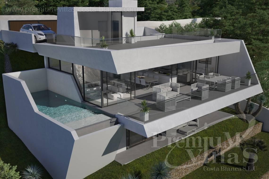 Moderne villa altea costa blanca spanien altea hills moderne