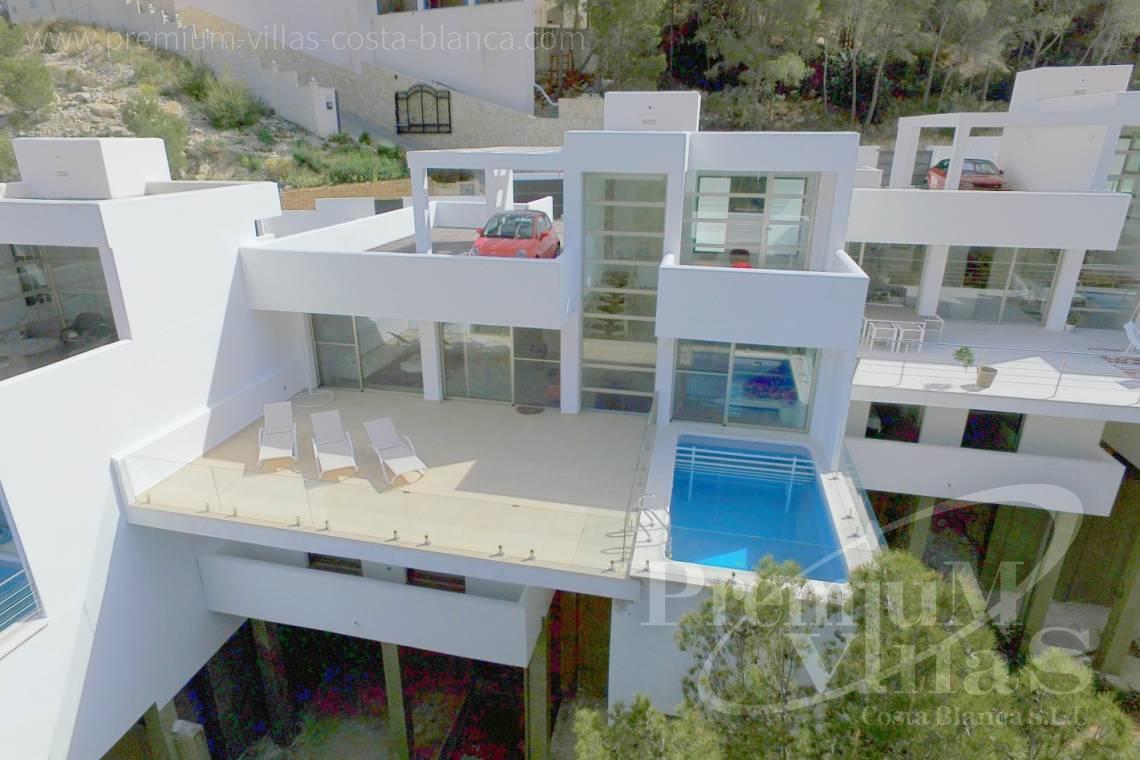 modernes Haus Altea Costa Blanca Spanien
