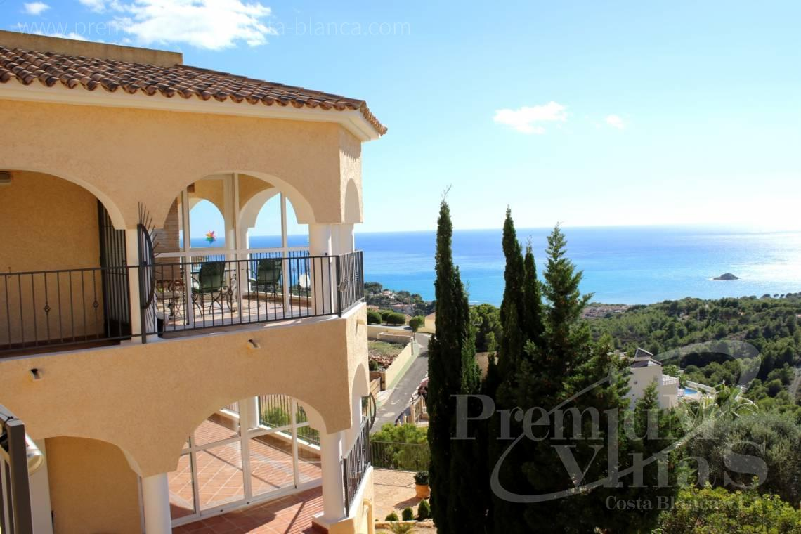 Villa in der Urbanisation Urlisa 2 Altea Costa Blanca - C2220 - Villa mit Meerblick in Altea 1