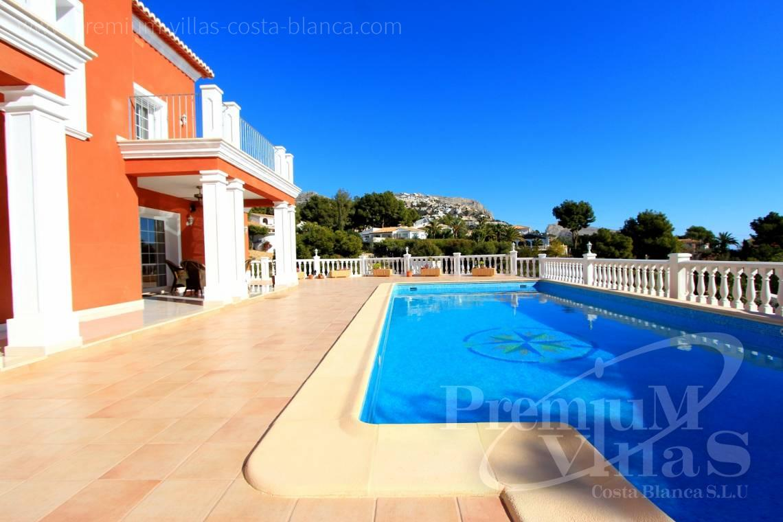 Villa mit privatem Pool in Altea Costa Blanca - C1721 - Kolonialstil Villa in Altea mit schönem Meerblick 4